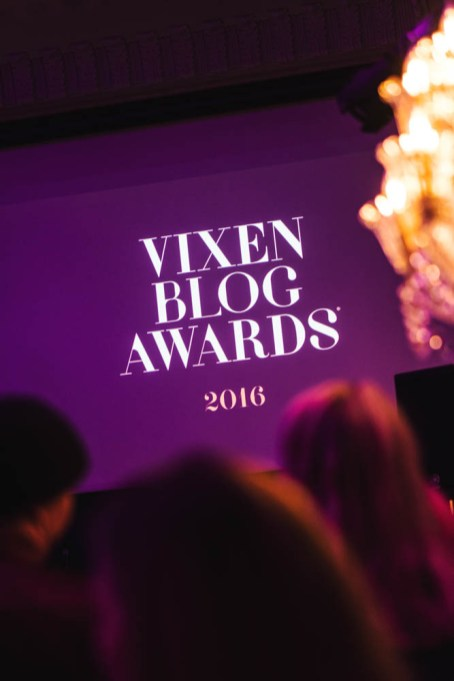 Vixen Blog Awards 2016. Photo: Christian Zervos
