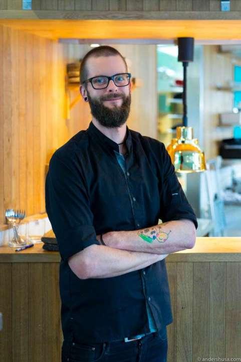 Restaurant manager Martin Apelskog