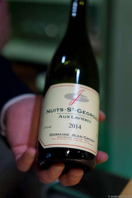Domaine Jean Grivot Nuits St. Georges Aux Levieres 2013