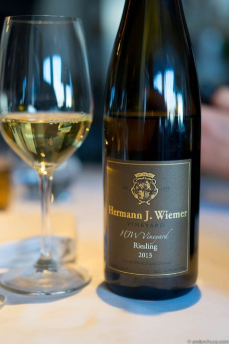 Hermann J. Wiemer, HJM Vineyard, Riesling 2013