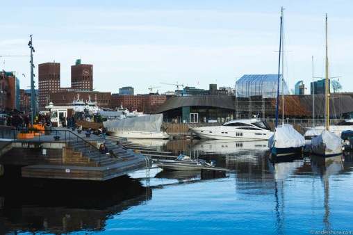 Situated in the old venue of Onda on Aker Brygge