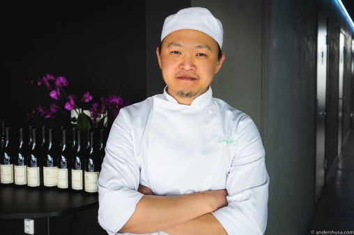 Pastry chef Jared JiannLih Chuah