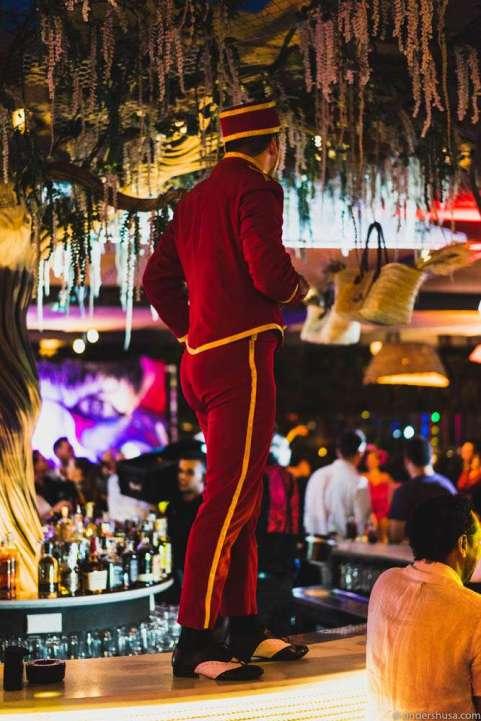 The bellboy at Heart Ibiza