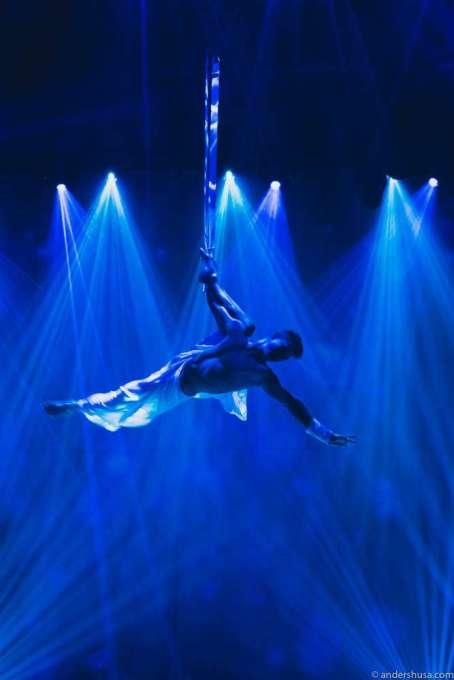 Acrobats at Heart Ibiza
