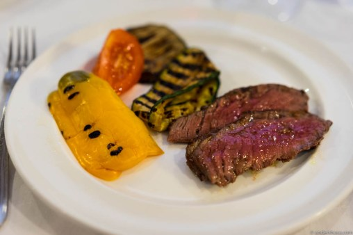 Secondi: Grilled meats and vegetables