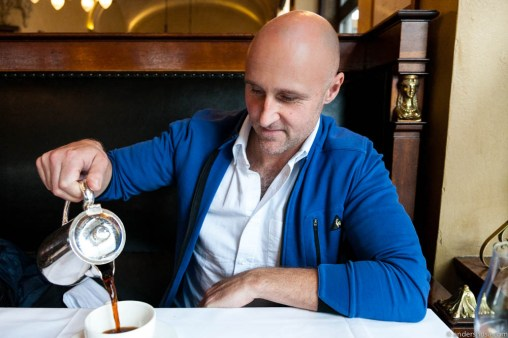 Chef and cookbook author Ole Martin Alfsen