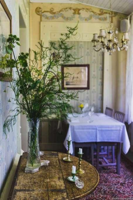 The dining room of Gula Hönan