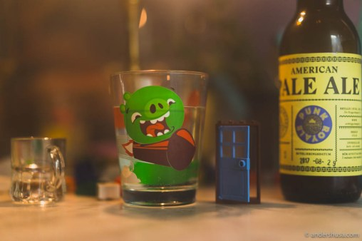 Angry bird water glasses