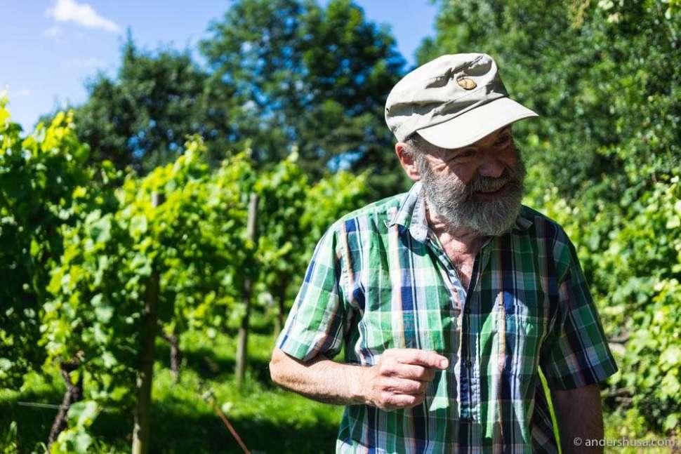 Winemaker Lars Hagerman