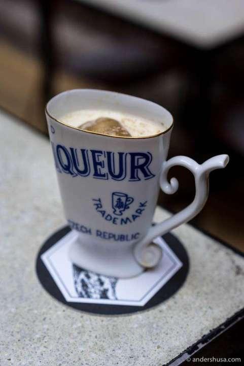 """Dulce de leche, aka """"Hapå"""" cocktail"""