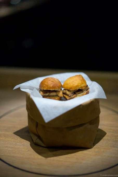 Unagi burger