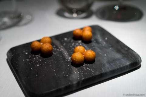 Crispy potato balls