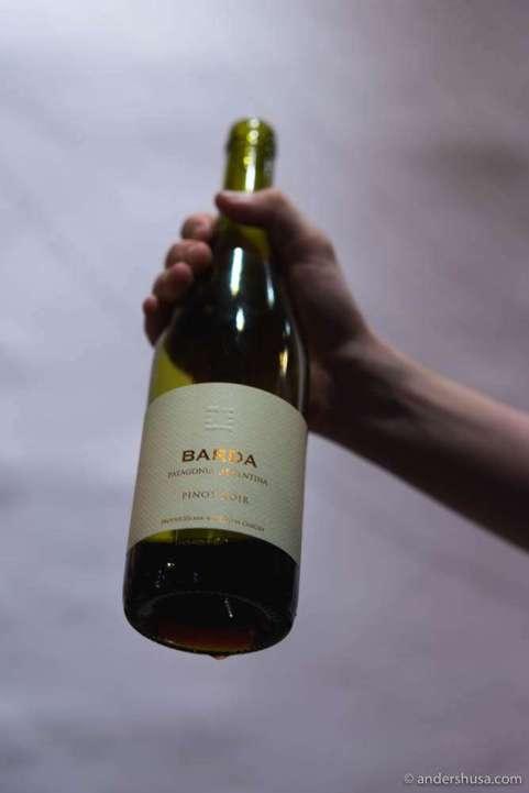 Bodega Chacra 'Barda' Pinot Noir, Rio Negro, Argentina