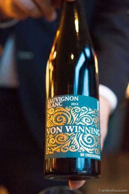 2015 Von Winning Sauvignon Blanc