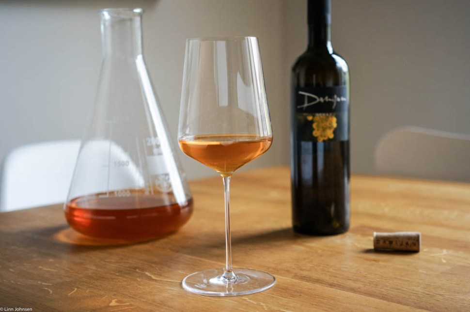 Orange wine! Photo: Linn Johnsen