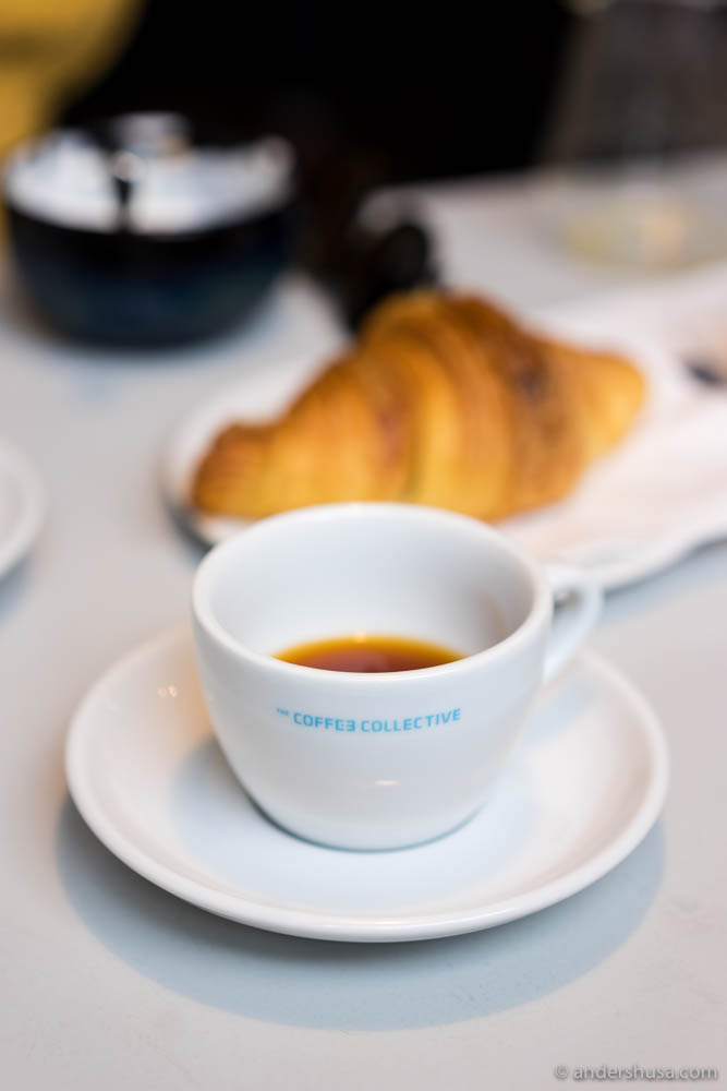 Hand-brewed coffee is the specialty at Coffee Collective.