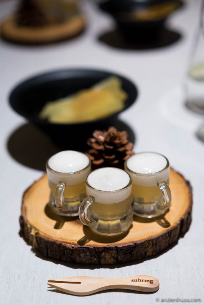Miniature-size beer mugs