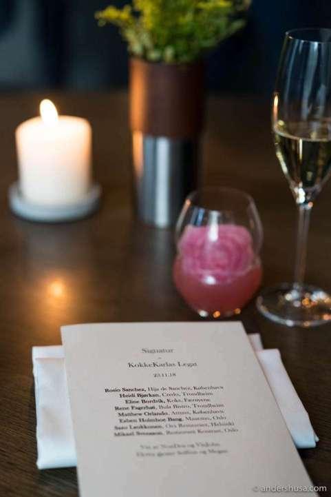 KokkeKarlas Legat menu