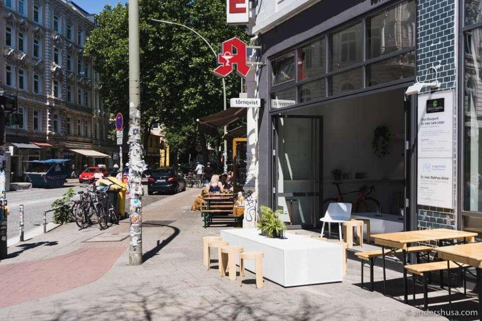 Törnqvist Coffee Shop in Hamburg