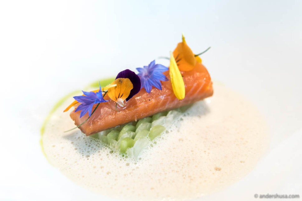 Restaurant À L'aise in Oslo deserves a Michelin star, but might have to wait yet another year.