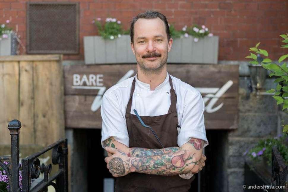 Head chef Morten Tungesvik