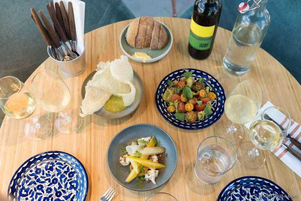 Norwegian tapas at Colonialen Kranen