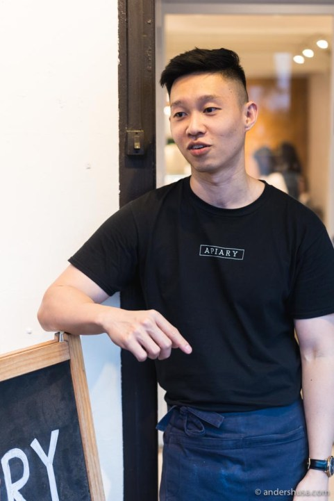 Travis Goh is the passionate ice cream maker and chocolatier behind Apiary.