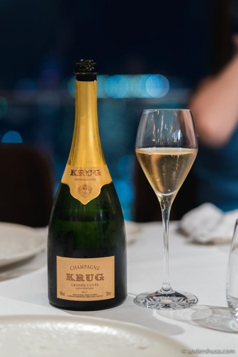 JAAN by Kirk Westaway is the Krug ambassador in Singapore
