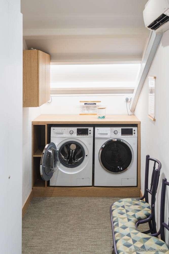 ... a free laundry room!