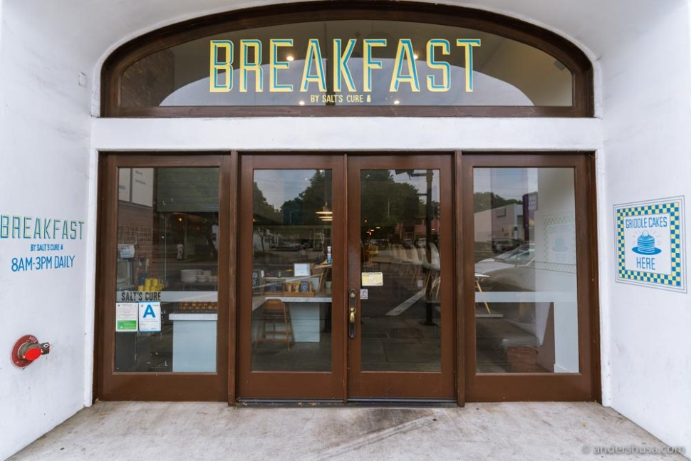 The breakfast-only spot from Salt's Cure.