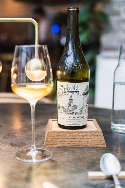 Chardonnay Arbois 2011 – Gerard Villet