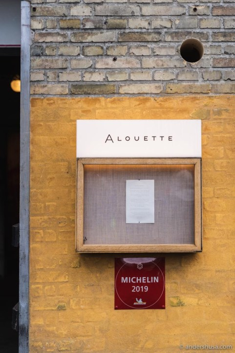 Who would expect a Michelin-starred restaurant here?