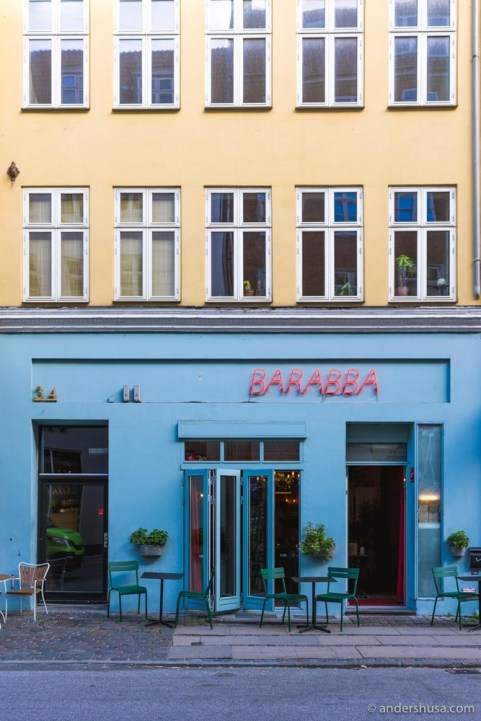 Barabba is the go-to place in Copenhagen for pasta and natural wine.