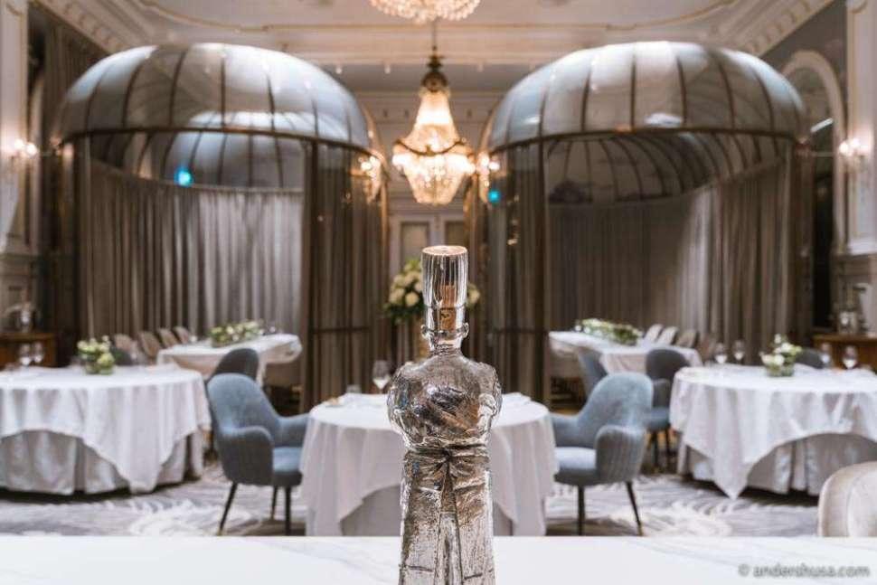Speilsalen is the one Michelin star restaurant of the Britannia Hotel.
