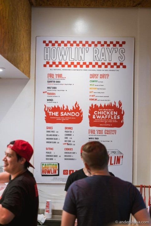 How hot do you like your hot chicken?!