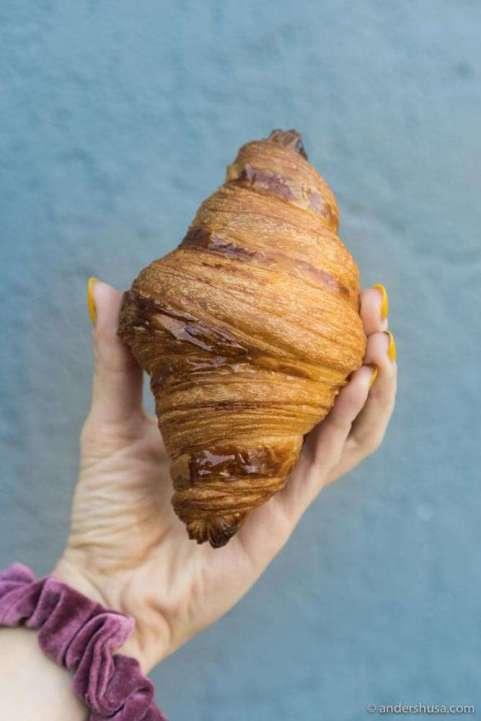 Konbi's butter croissant.