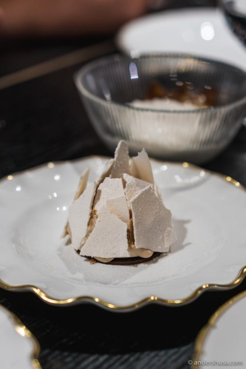 Another incredible dessert at Pasjoli is the Mont Blanc.