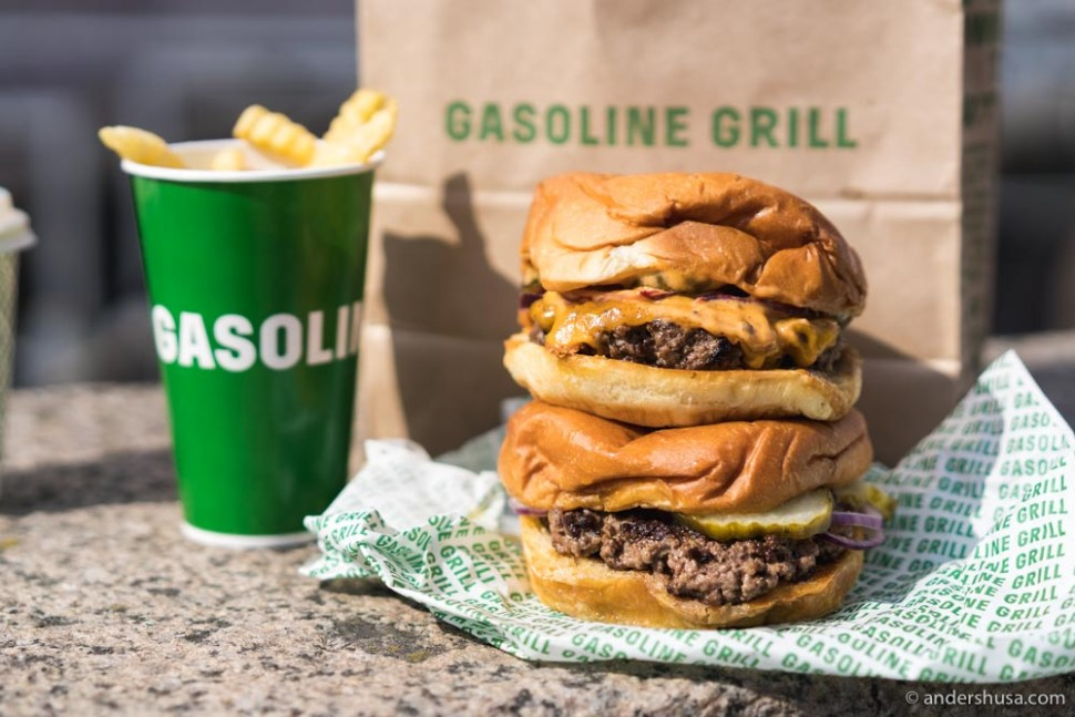 Take-away from Gasoline Grill.