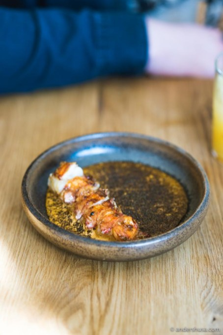 Once we were lucky to find Norwegian langoustine on the menu!