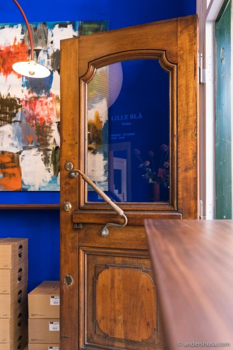 We love this vintage door.