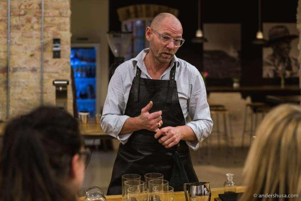 Chatting with the award-winning coffee roaster Søren Stiller Markussen.