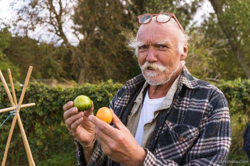 """Karl Narve Kverneland is the gardener (""""havemann & pedell"""") at Kadeau."""