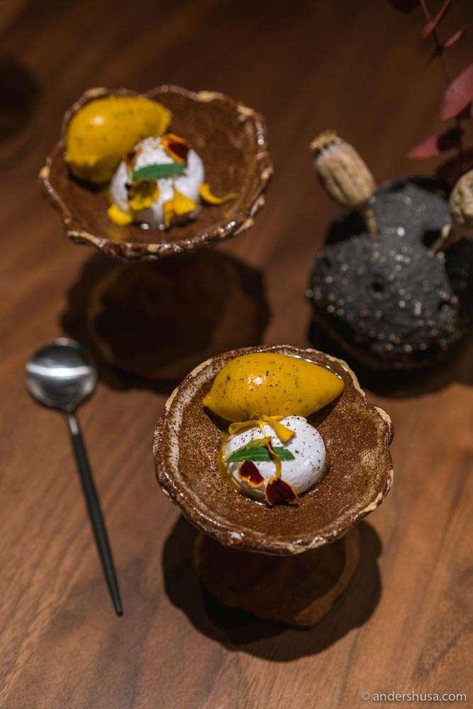 Sea buckthorn, lemon verbena, and Timut pepper.