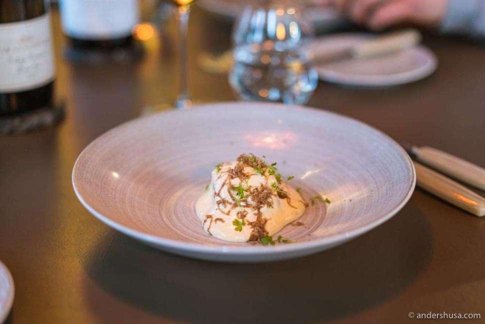 Celeriac and white truffle.