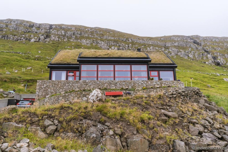 This Kirkjubøur house was once home to restaurant Koks.