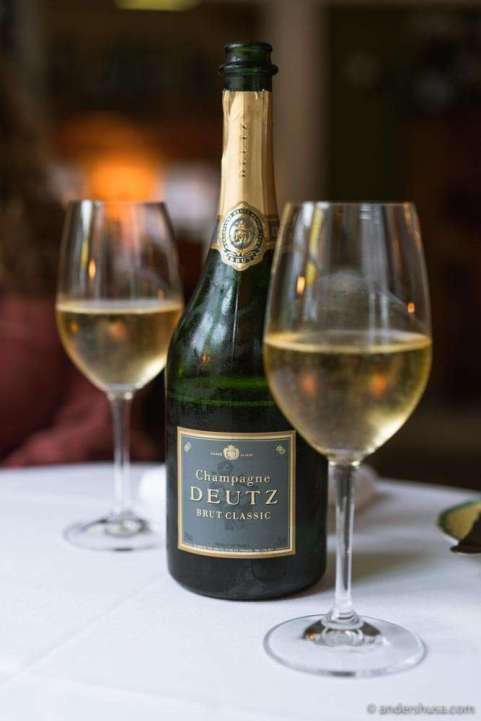 Champagne Deutz – Brut Classic.