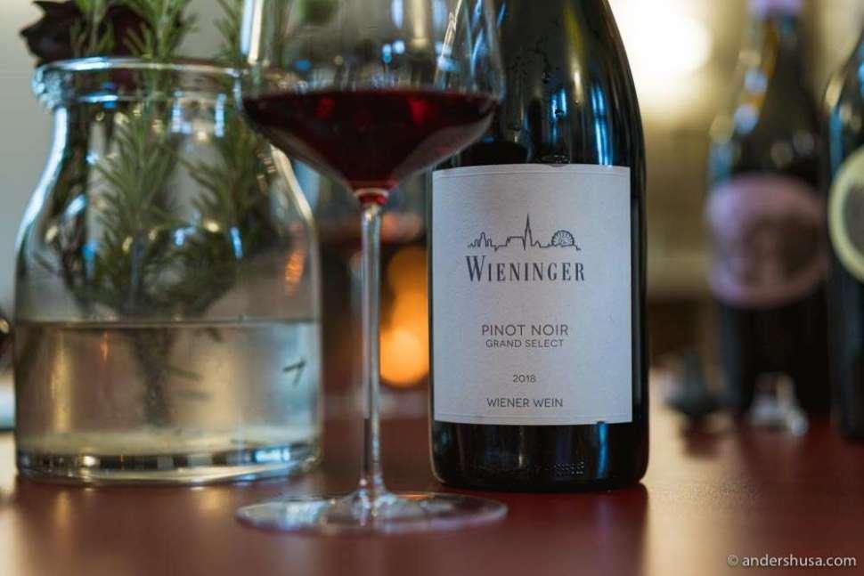 Wieninger – Pinot Noir Grand Select 2018.
