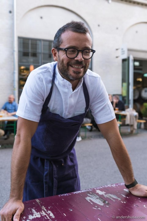 Chef Christian Puglisi says hello.