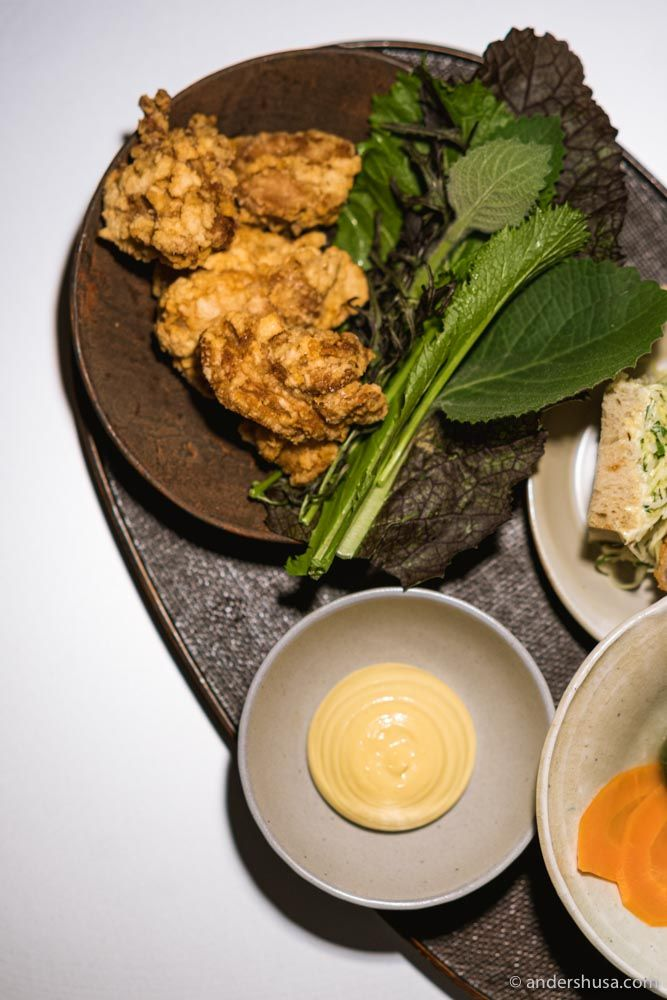 The fried chicken karaage was a favorite for us!