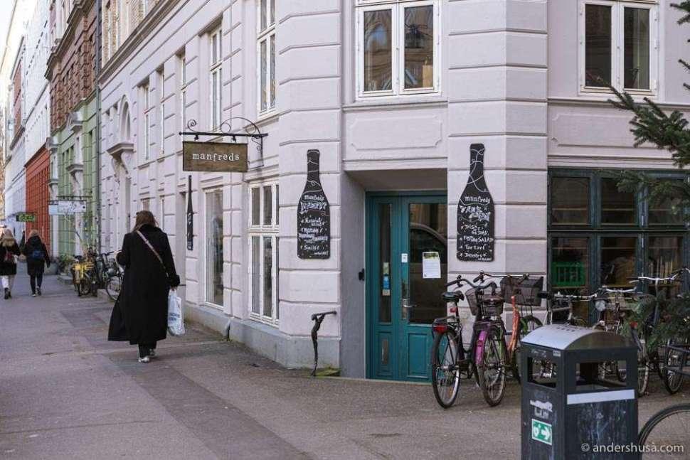 The former Manfreds venue on Jægersborggade.